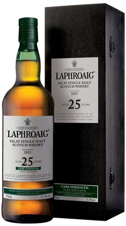 Laphroaig Scotch Single Malt 25 Year Cask Strength